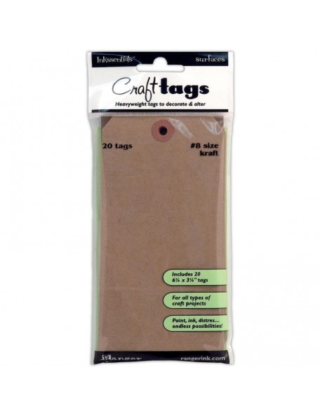Ranger Inkssentials Kraft Craft Tags
