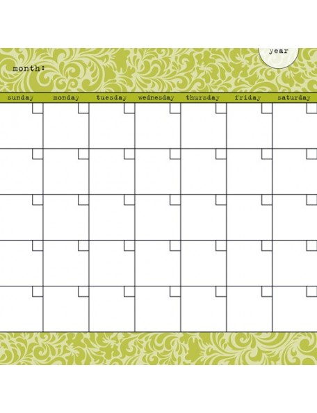 Bella BLVD Classic Calendars, Puckle Juice Calendar