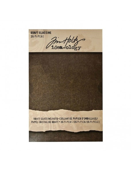 Tim Holtz Idea-Ology Glassine Stash Paper Pad