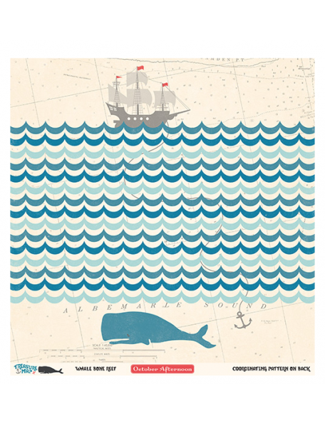 October Afternoon Treasure Map, Whale Bone Reef