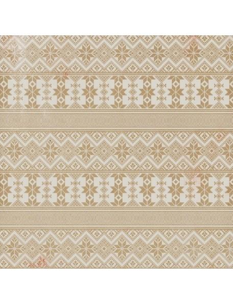 Authentique Cozy, Snug Snowflake Sweater/Vertical Stripe