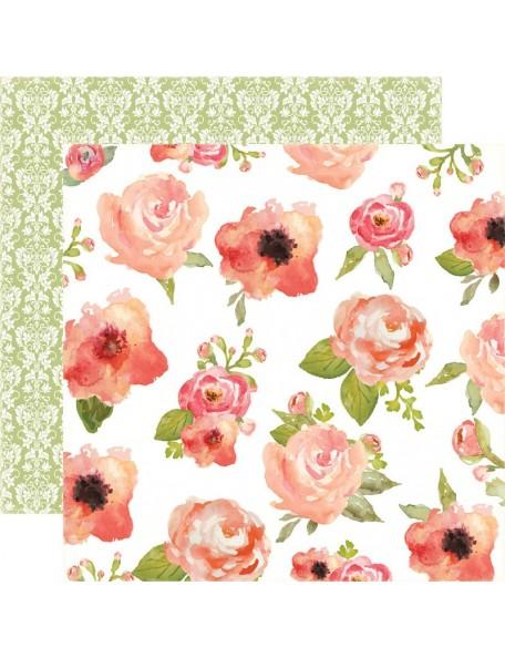 Carta Bella Rustic Elegance, Flowers