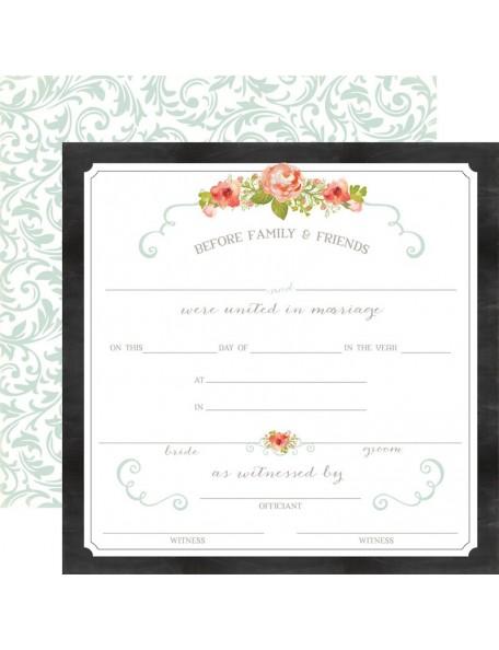 Carta Bella Rustic Elegance, Certificate