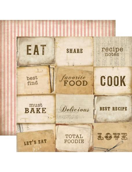Carta Bella Homemade With Love, Must Bake