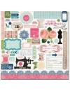 Carta Bella Sew Lovely Element Stickers