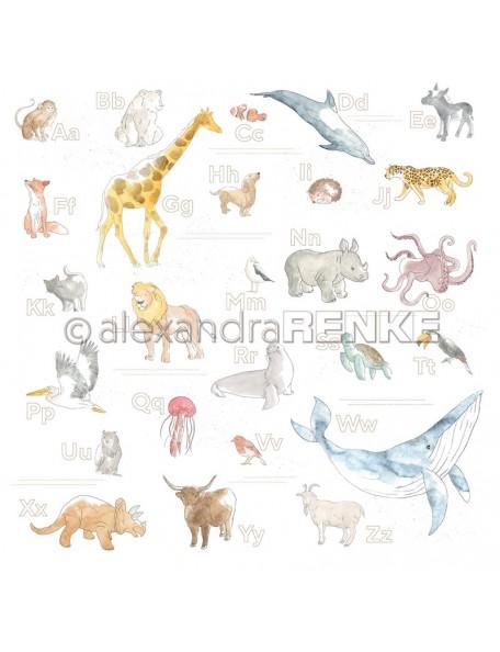 Alexandra Renke, Alphabet der Tiere