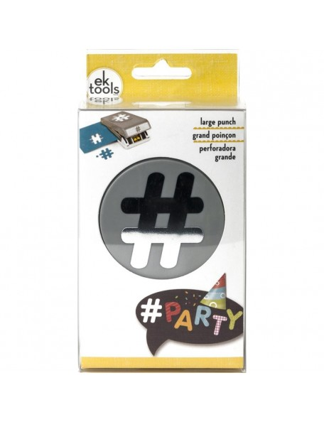Ek Tools Large Punch Hashtag