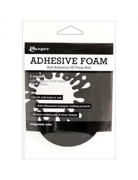 Ranger Black Adhesive Foam Roll