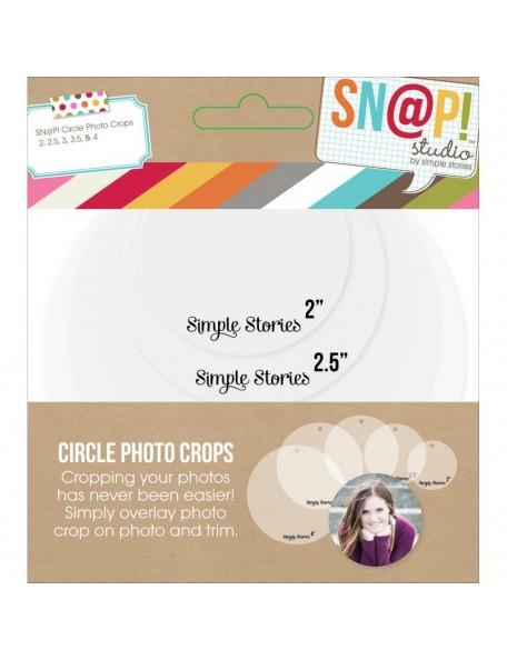 Simple Stories Sn@P! Photo Crops 5 Circle
