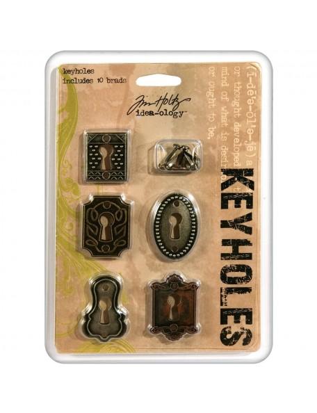 Tim Holtz Advantus Corporation 5 Keyholes Idea-Ology