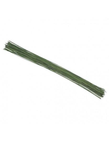 Alambre de hierro 0.8mm color verde