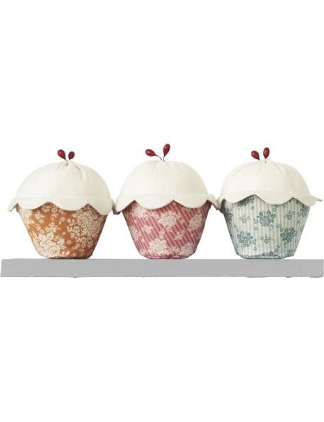 Tilda - Kit Cupcake 3 Pcs