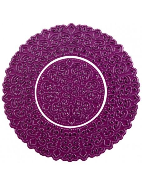 """Cheery Lynn - Designs Doily Die Fleur De Lis, 2""""X5.25"""""""