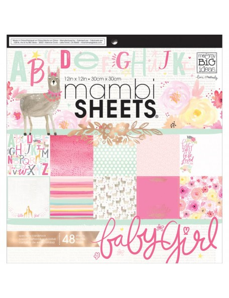 "Me&My Big Ideas - Mambi - She´s So Lovery - Cardstock 12""x12"" Cardstock de una cara"