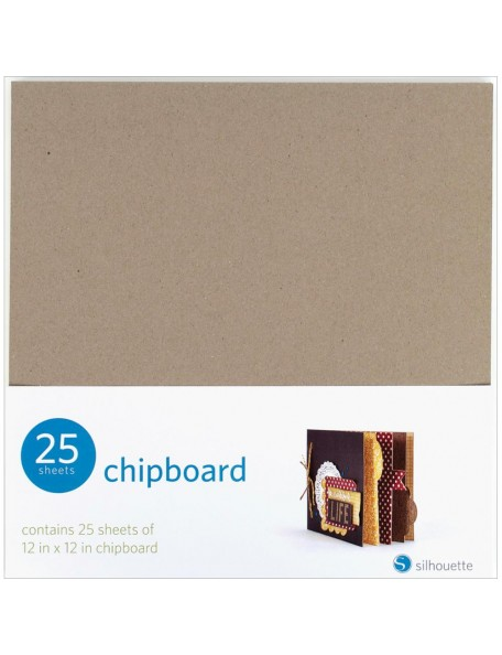 "Silhouette Chipboard 12""x12"" 25pcs"