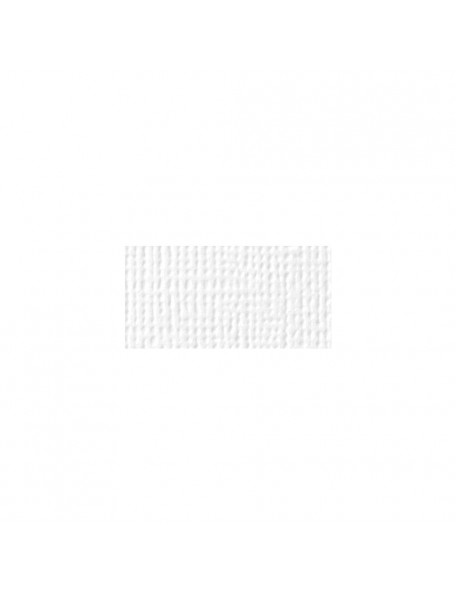 """American Crafts - White - Textured Cardstock 12""""x12"""""""
