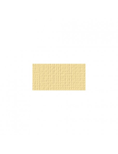 "American Crafts Textured Cardstock 12""x12"", Butter"