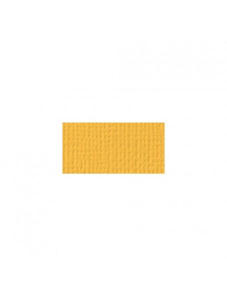 """American Crafts Textured Cardstock 12""""x12"""", Dandelion"""