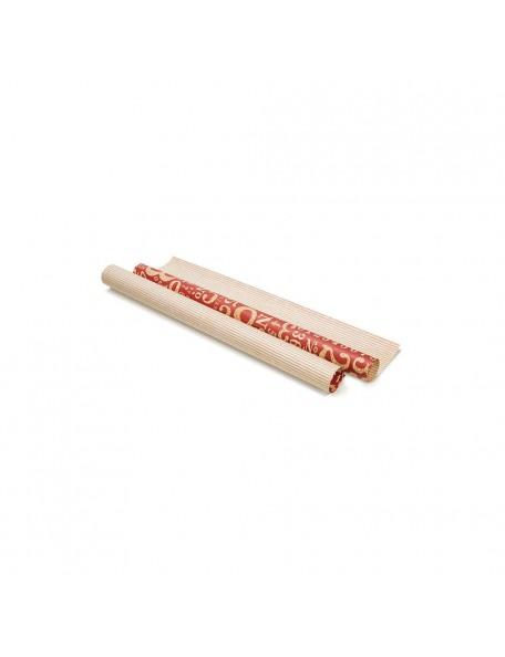 Grapic 45 - Number & Strip Rojo - Papel Kraft