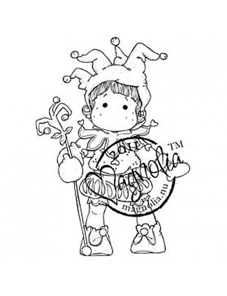 "Magnolia - Jester Tilda - Princes & Princesses Cling Stamp 6.5""X3.5"""