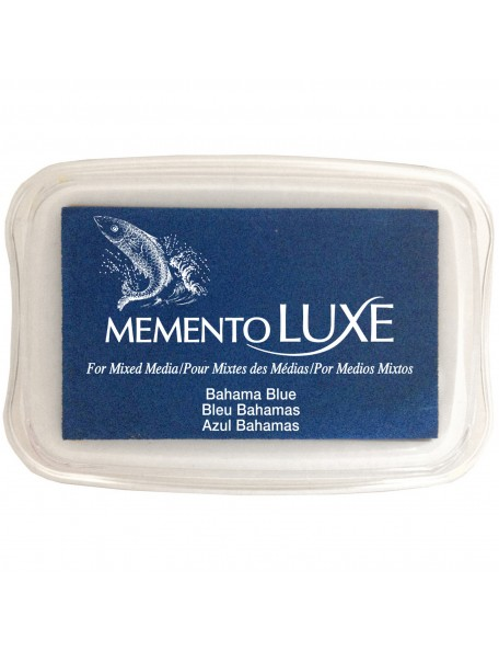 Memento Luxe Ink Pad, Bahama Blue
