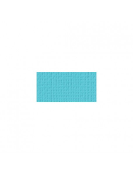 "American Crafts Textured Cardstock 12""x12"", Pool"
