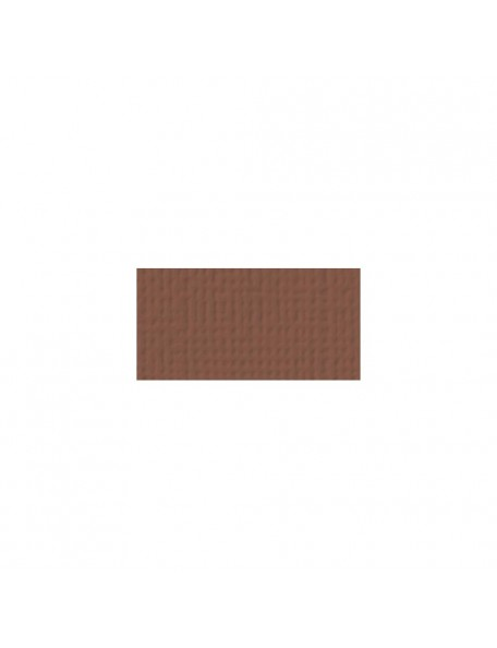 "American Crafts Chocolate Textured Cardstock 12""x12"""