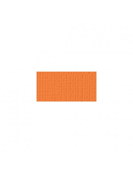 "American Crafts Textured Cardstock 12""x12"", Carrot"