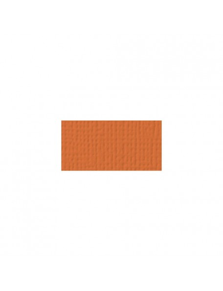 "American Crafts - Apricot Textured Cardstock 12""x12"""