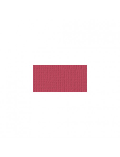 "American Crafts Scarlet Textured Cardstock 12""x12"""