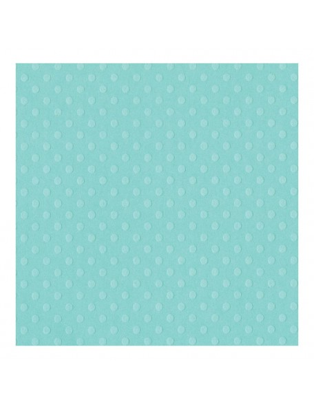 "Bazzill Julep Dotted Swiss Cardstock 12""x12"""