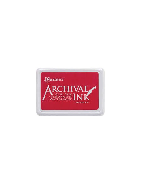 Ranger - Vermillon Archival Ink Pad
