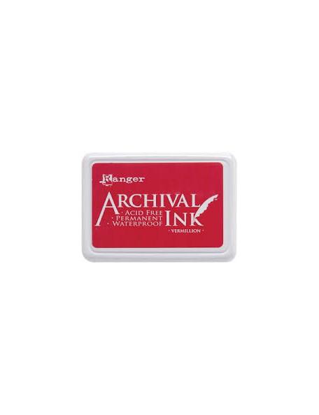 Ranger - Vermillon Archival Ink Pad