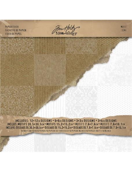 Tim Holtz Advantus Corporation Paper Stash Resist12