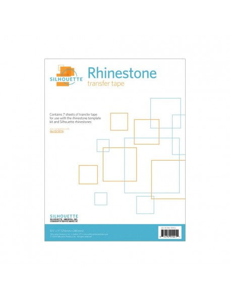 """Silhouette Hoja Transfer para Rhinestone8,5""""x11"""""""