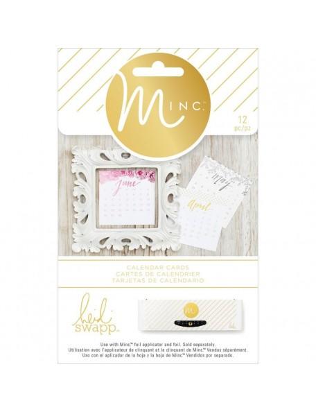 Heidi Swapp Minc Calendar Card