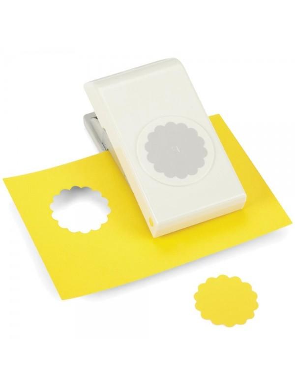 """Ek Tools Troqueladora en forma de círculo de Scallop Circle con un tamaño de 1.5"""""""