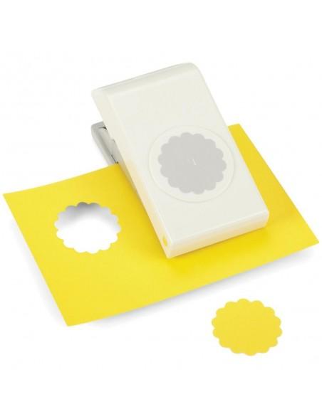 """Ek Tools - Troquel en forma de círculo de Scallop Circle con un tamaño de 1.5"""""""