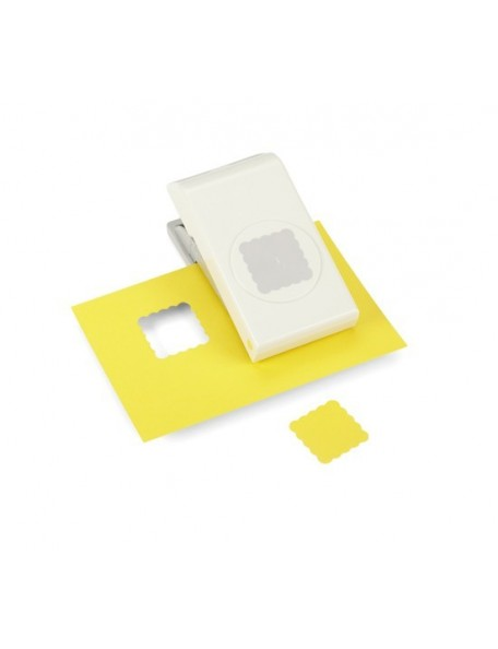 EK Tools Large Punch Scallop Square, 1.25""