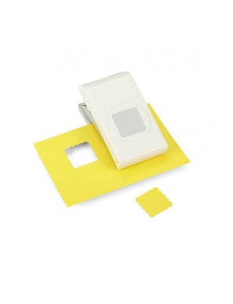 """Ek Tools Troqueladora para hacer cuadrados en forma de Scallop con tamaño 1.25"""" Descatalogado"""