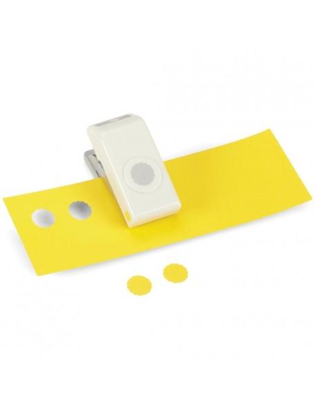 """Ek Tools Troqueladora para hacer círculos en forma de Scallop 1/2"""""""