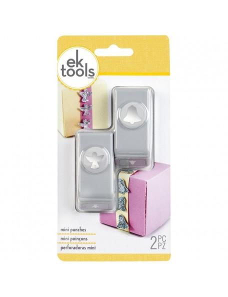 Ek Tools Mini Troqueladora para hacer angelitos y campanas