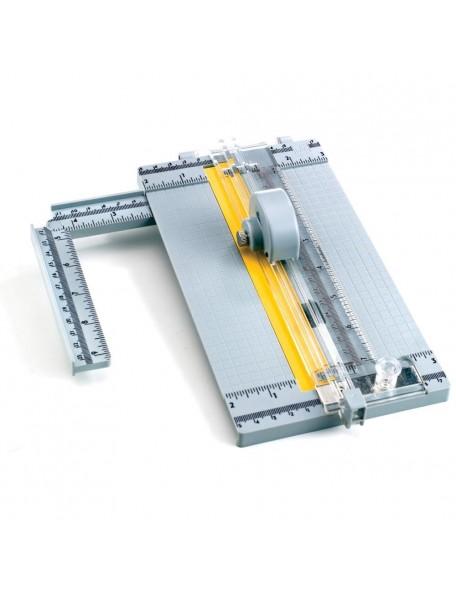"Ek Tools Mini Rotary Paper Trimmer 9.75"""