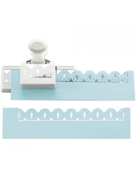 "Martha Stewart Deep Edge Punch Linked Butterfly Trim, 1.25""X2"""