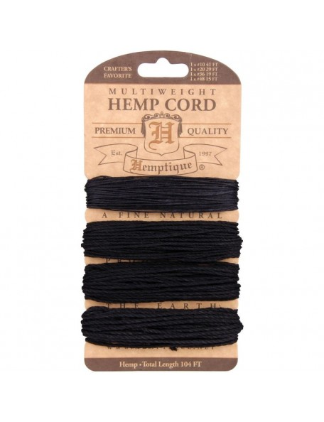 Hemptique Hemp Multiweight Set Black