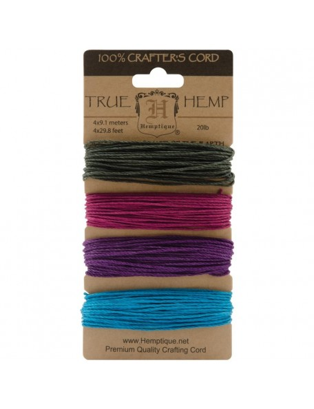 Hemptique Hemp Cord 20lb 120' Party
