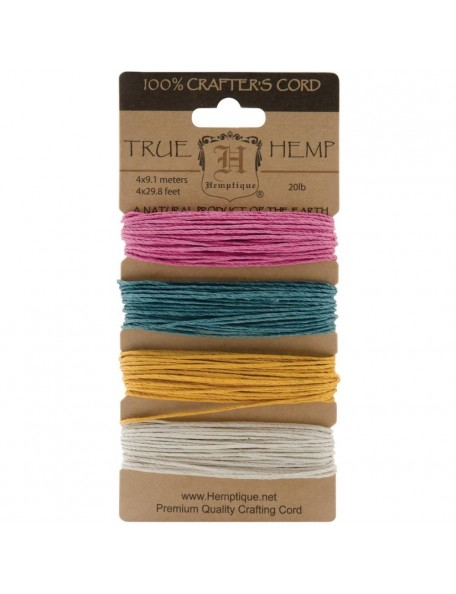 Hemptique Hemp Cord 20lb 120' Spring