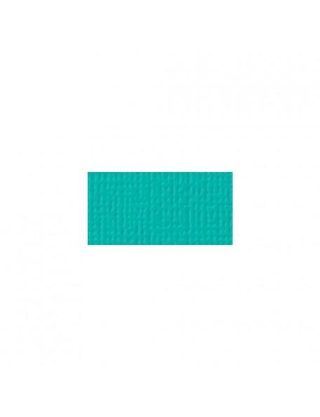 """American Crafts - Aqua Textured Cardstock 12""""X12"""""""