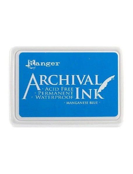 Ranger - Manganese Blue Archival Ink Pad