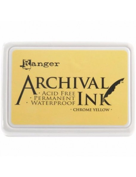 Ranger - Chrome Yellow Archival Ink Pad